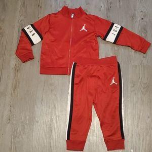 Jordan   Toddler 2 piece Tracksuit   Red